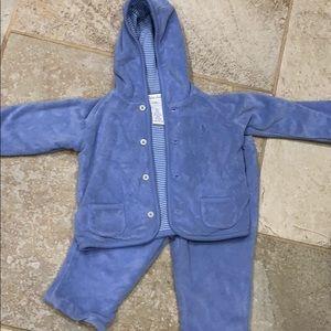 Ralph Lauren two piece blue outfit size 9months